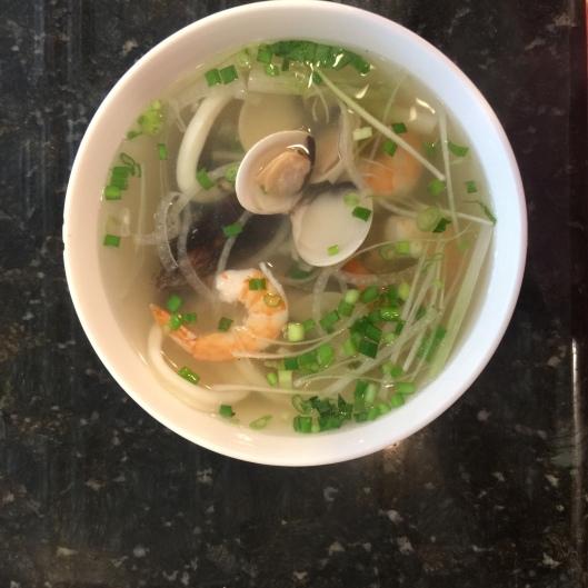 Seafood pho